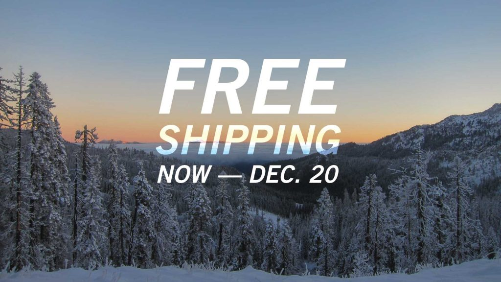 Free Shipping. Now — Dec. 20