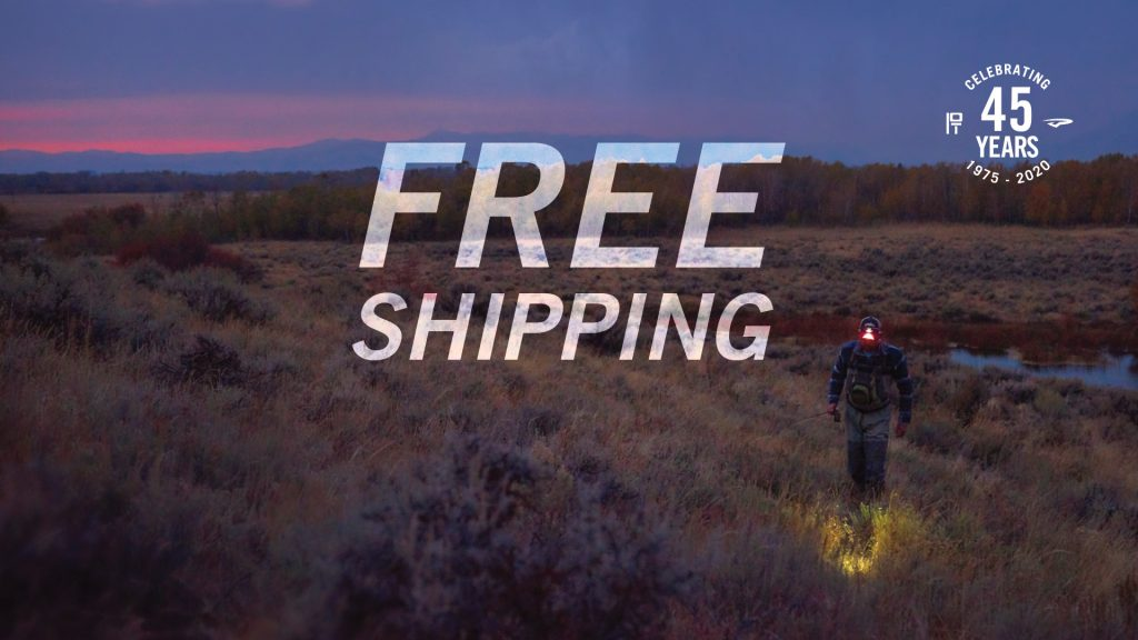 Free Shipping. Now — March 31st