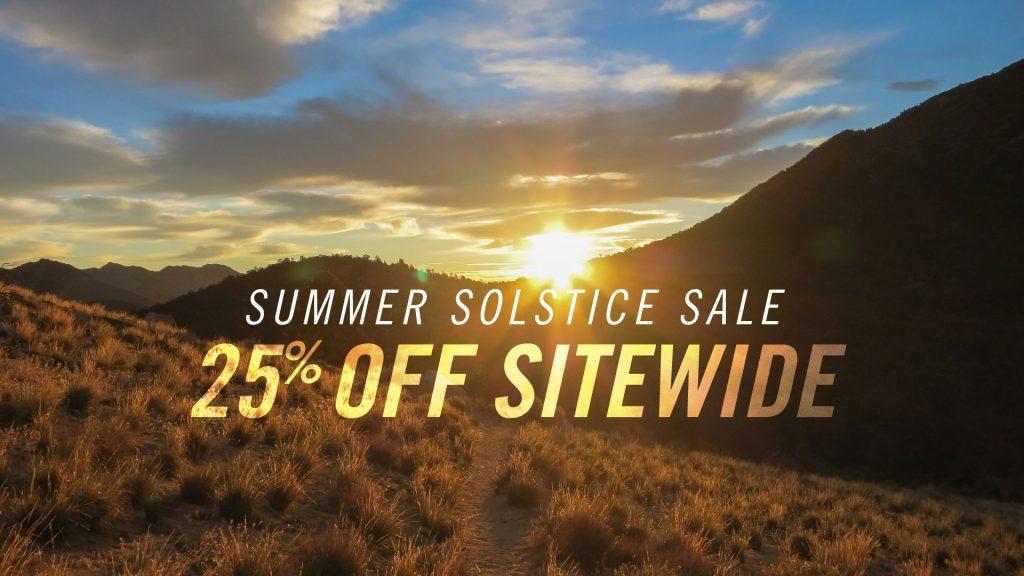 Summer Solstice Sale — 25% Off Sitewide